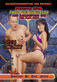 Stepsister CFNM Small Penis Humiliation And Ballbusting Sex